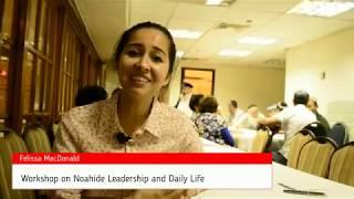 Felissa MacDonald - Noahide Convention 5776