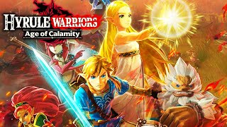 HYRULE WARRIORS: AGE OF CALAMITY All Cutscenes (Game Movie) 1080p HD