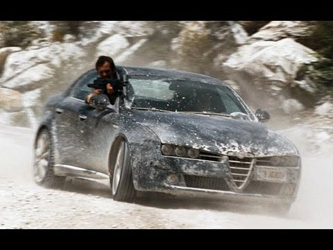 Alfa Romeo 159 in James Bond movie (2008)