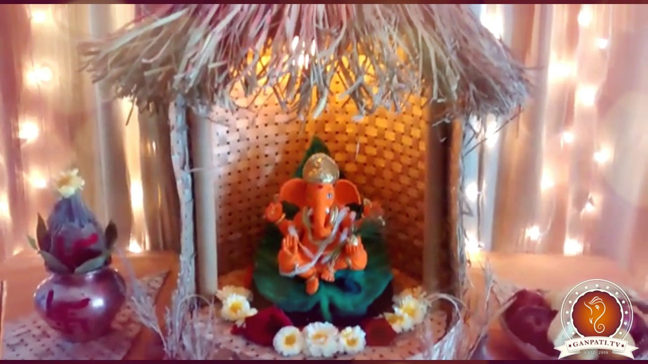 Virendra Nagarkar Home Ganpati Decoration Video u0026