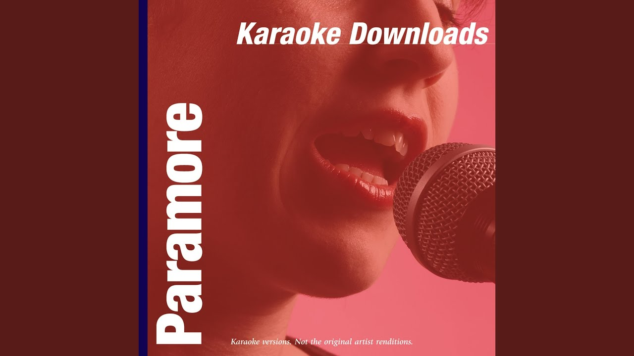 Paramore decode instrumental download.