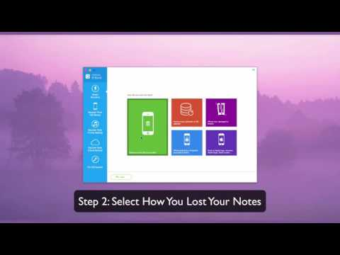 How To Recover Deleted Notes From Iphone