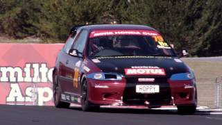 Honda cup NZ Round 3, as fast as the old NZV8s
