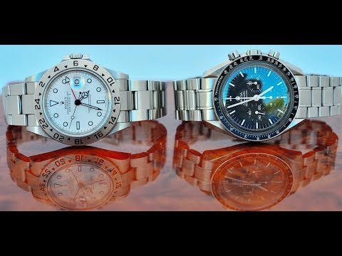 PAID WATCH REVIEWS - George's 2 piece dream combo OMEGA MOTM and ROLEX EXPLORER II
