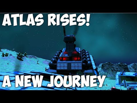 No Man's Sky Atlas Rises | A NEW BEGINNING! CRASHED FREIGHER?! NMS Part 8