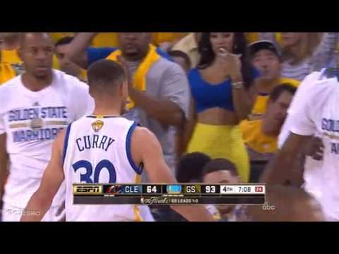 Girl Tries To Get Stephen Curry