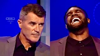 Micah Richards Laughing At Roy Keane For 2 Minutes Straight