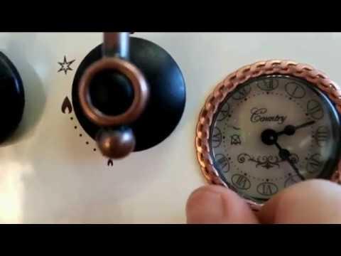 замена форсунок (горелок) на газовой плите - YouTube