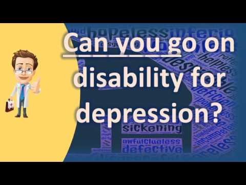 Waiting for disability anxiety depression
