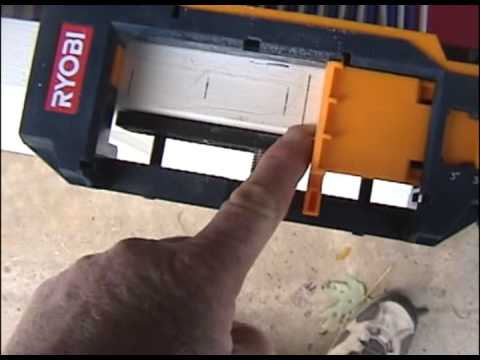 Door Hinge Routering - YouTube