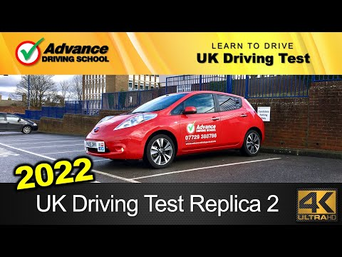 New UK Driving Test Replica 2 (full route without Sat-Nav / automatic car)
