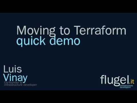 Moving to Terraform Demo (English) | Quick Demo| flugel.it