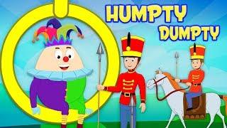 Humpty Dumpty นั่งลงบนผนัง | บ๊องในไทย | เด็กสัมผัสที่เป็นที่นิยม | Humpty Dumpty Sat on a Wall