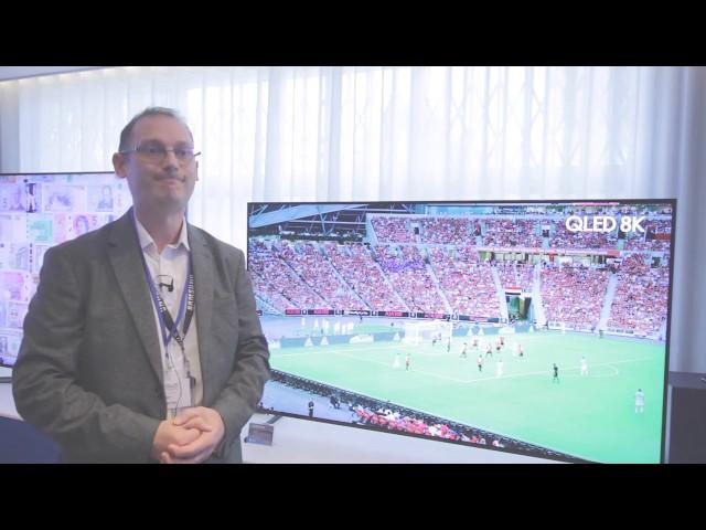 AWE EXPO 2019 - Samsung 8K TV