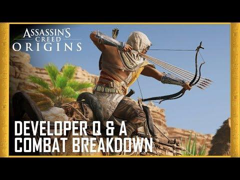 Assassin's Creed Origins: Developer Q&A - Combat Breakdown | Ubisoft [US]