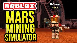 ROBLOX MARS MINING SIMULATOR