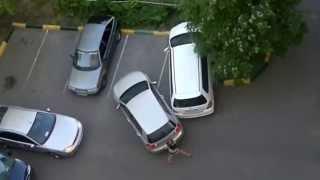 ЖЕСТКИЙ РЖАЧ! Прикол! Блондинки на парковке