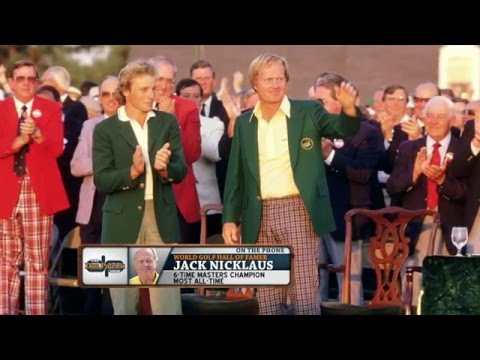 Jack Nicklaus' kids gave away the putter he used to win the