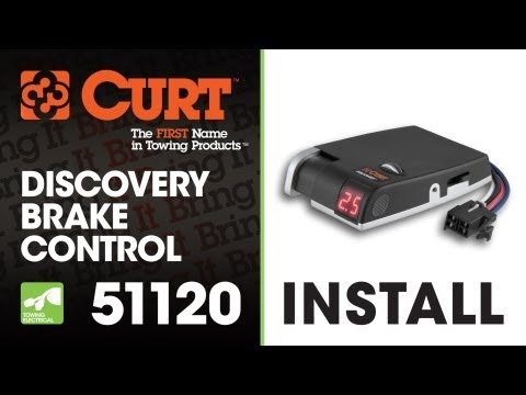 [WLLP_2054]   Brake Control Install: CURT 51120 Discovery Brake Control - YouTube | Curt Trailer Brake Wiring Diagram |  | YouTube