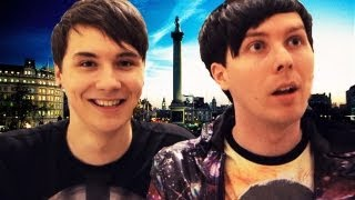 A Day in the Life of Dan and Phil in London!