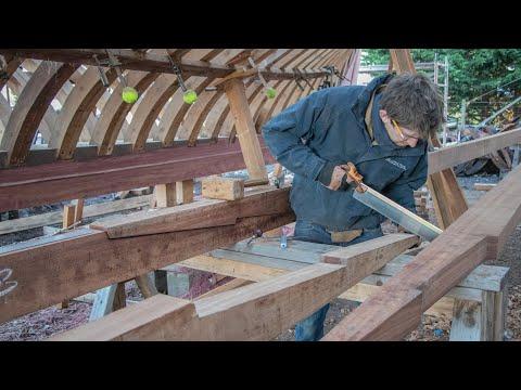 Boatbuilding - Making Beam Shelves (Tally Ho EP62)