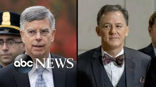 Taylor, Kent 1st witnesses in public impeachment hearings l ABC News