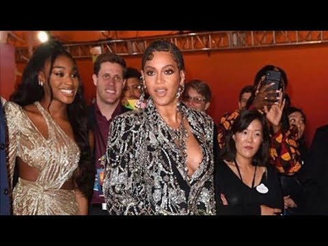 Beyonce, Normani & Kelly Rowland Arrive to The Lion King Premiere