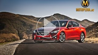 2015 Infiniti Q50 review - Q50 تجربة انفينيتي - Dubai UAE Car Review by Motopedia.ae