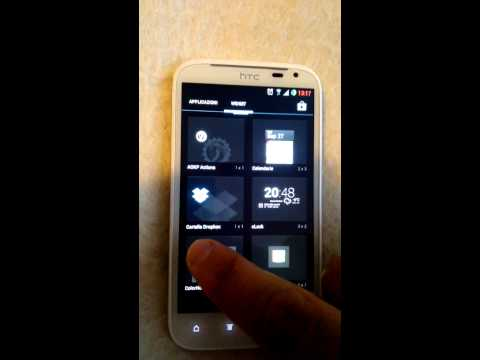 Htc Sensation XL Android 4.2.2 JellyBeer