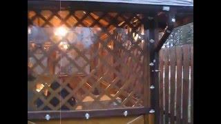 Прозрачные ПВХ шторы для беседки(, 2015-12-13T19:29:03.000Z)