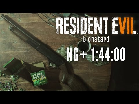 Resident Evil 7 - New Game+ Speedrun in 1:44:00