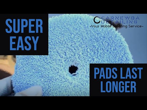 HOW TO CLEAN POLISHING PADS: Super Easy!