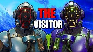 """The Visitor"" Unlocked! Customizable Blockbuster Skin In Fortnite"