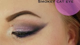 Smokey Cat Eye Makeup Look Thumbnail