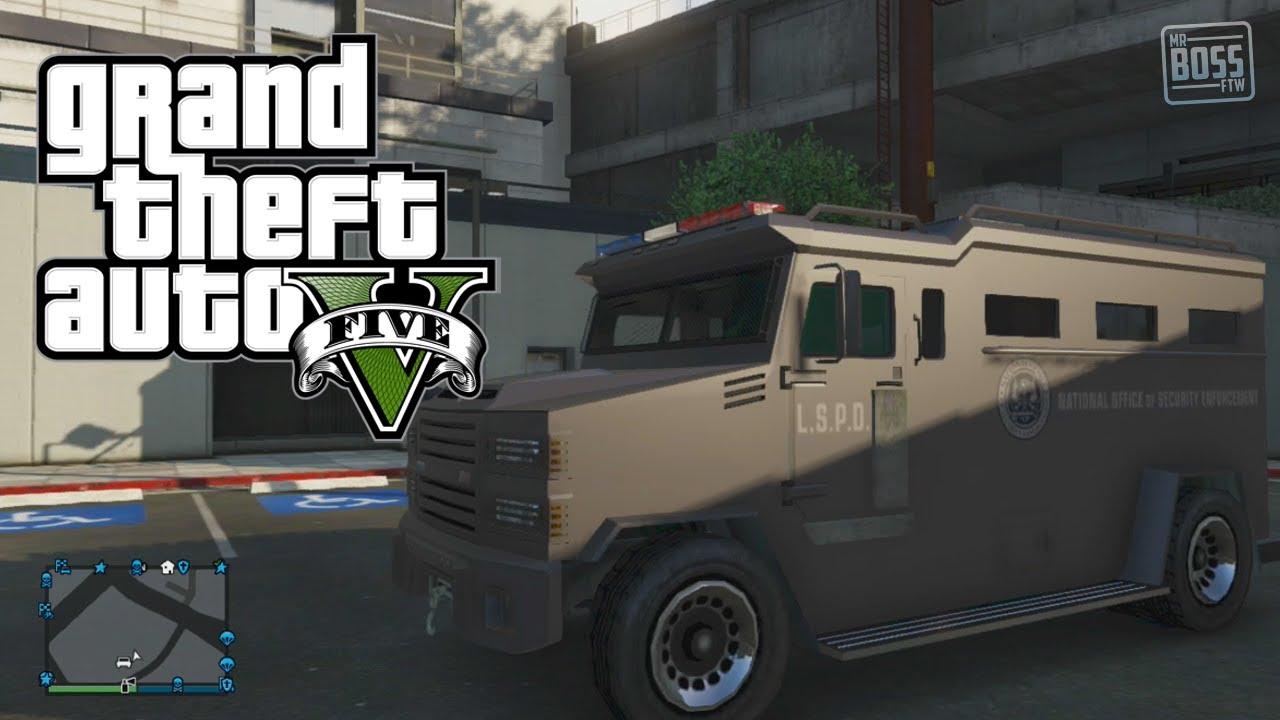 gta 5 online secret cars police swat riot van location gta v youtube - Gta 5 Police Cars