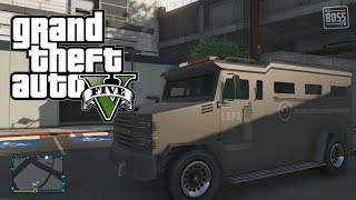 "GTA 5 Online: Secret Cars -  Police Swat ""Riot Van"" Location (GTA V)"