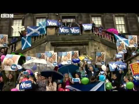 Scottish independence: Cameron, Miliband and Clegg sign No vote pledge - BBC News