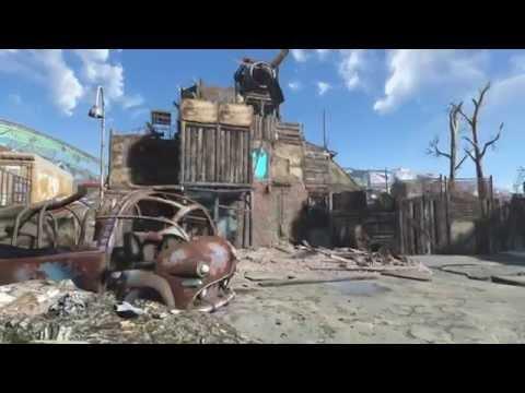 Fallout 4 Jamaica plain settlement tour
