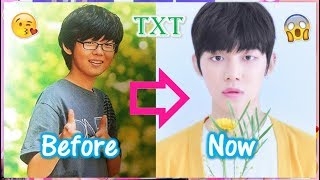 TXT YEONJUN - Predebut Vs Now : Before and Now