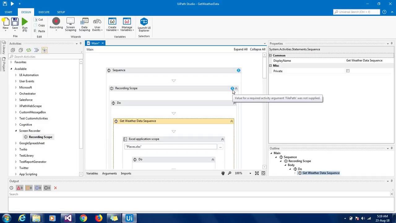 UiPath Screen Recorder   Devpost