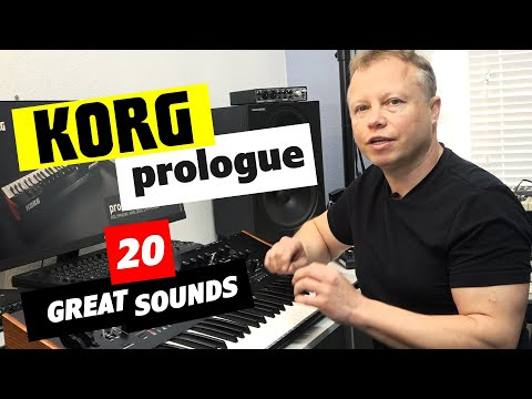 Korg Prologue - My Favourite 20 Factory Presets | Bonners Keyboard Centre
