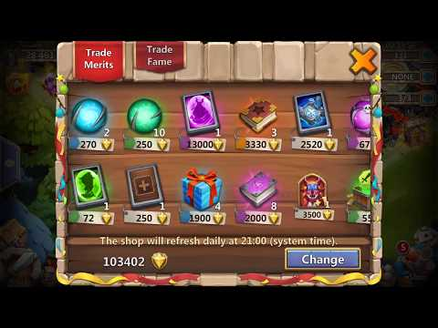 Castle Clash : How To Make Free 50k Merits Without Hack, Free !!!