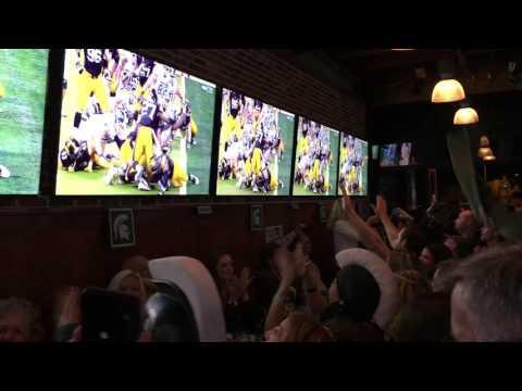 MSU Vs Iowa NCAA Football Touchdown Rudy's Watch Party - Zennie62