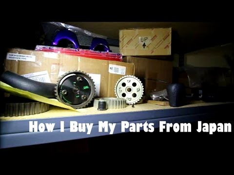 HOW I BUY MY PARTS FROM JAPAN  |  12.2.16