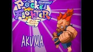 """Pocket Fighter  """" Akuma Playthrough """""""