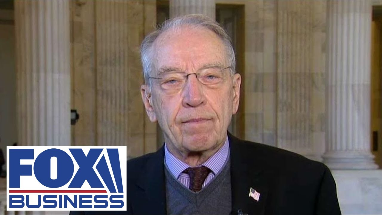 'We can't shut down the economy forever': Sen. Grassley