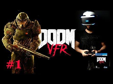 DOOM VFR #1 - JOGO EM REALIDADE VIRTUAL! Gameplay com Enoque Verli PT-BR (PS4 PSVR)