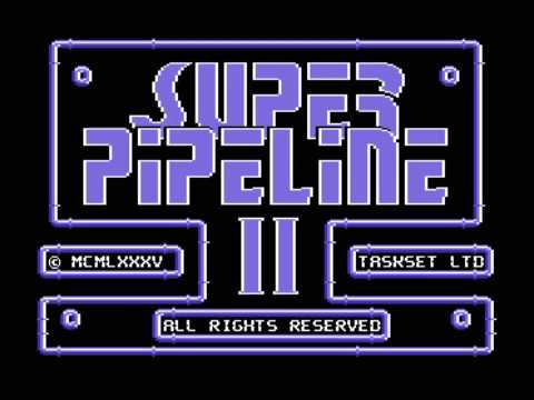 Commodore 64 Longplay - Super Pipeline 2