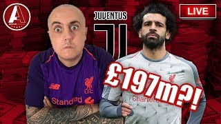 CRAZY SALAH BID REPORTED?! | Liverpool Fan Chat Show
