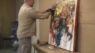 Мастер-класс живописи маслом. ЧАСТЬ 1 - 'Подсолнухи'